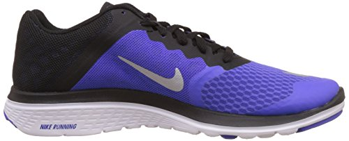 Run Slvr Blck Lite Prsn Vlt Violett Laufschuhe 3 Nike Mtllc Wmns FS Wht Damen xqtnTIPH