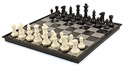 The Chess Store Chess & Checkers Folding Magnetic Travel Set - 14""