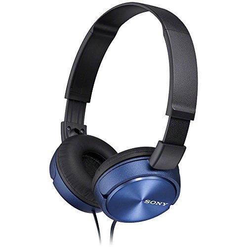 Sony MDRZX310L.AE  Foldable Headphones – Metallic Blue
