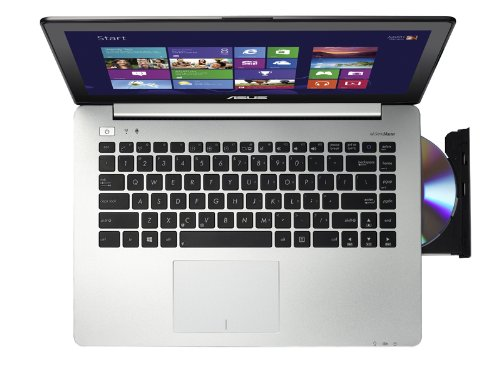 Asus Vivobook S451LA-CA016P - Portátil táctil de 14' (Intel Core i5 4200U, 4 GB de RAM, 500 GB de disco duro, Intel HD Graphics 4400 con 1 GB, Windows 8.1 PRO 64), negro -