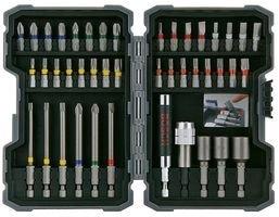 Bosch Profesional Set de unidades para atornillar y llaves de vaso Ph