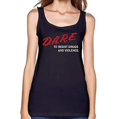Women D.A.R.E To Resist Drugs & Violence Stylish Tank Top