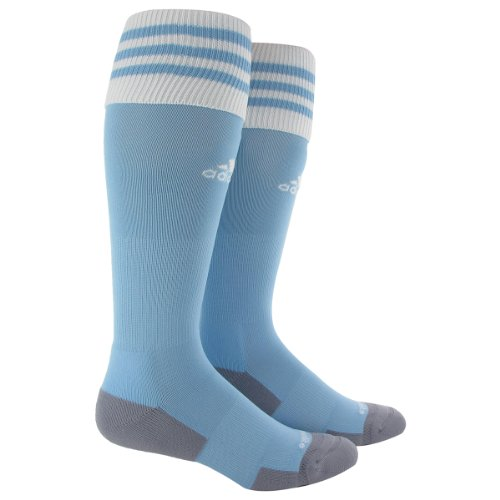 adidas Copa Zone Cushion II Sock, Argentina Blue/White, Medium