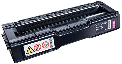 Ricoh 406048 tóner y Cartucho láser Cartucho de tóner 2000 páginas Magenta - Tóner para impresoras láser (Cartucho de...