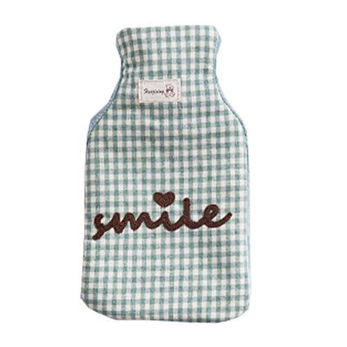 750ML belle bouteille d'eau chaude, réchauffer vos mains, produits de chauffage d'hiver! vert