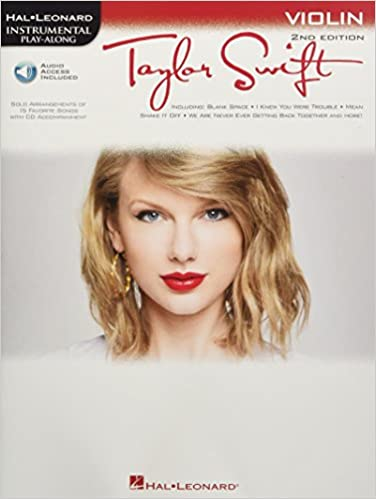 Violin Play-Along Book with Online Audio Taylor Swift