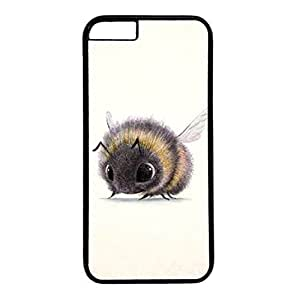 Black PC Case For iphone 6 plus With Insect Illustration Xiang's Case