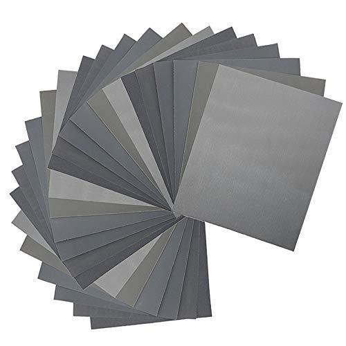400 600 sandpaper wet - 7