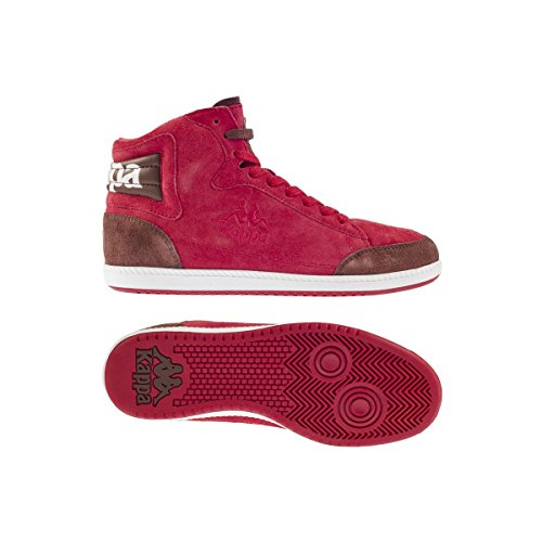 Sneakers - Authentic 0083 Red Coral-Brown