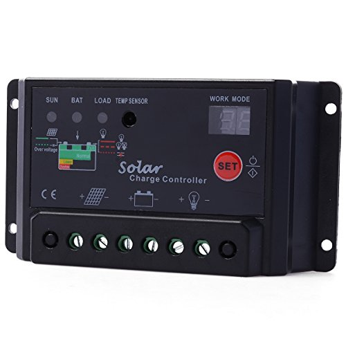 XCSOURCE® Intelligent 30A PWM Solar Panel Charge Controller 12V24V Battery Regulator LD296 Solar Power And Accessories XCSOURCE