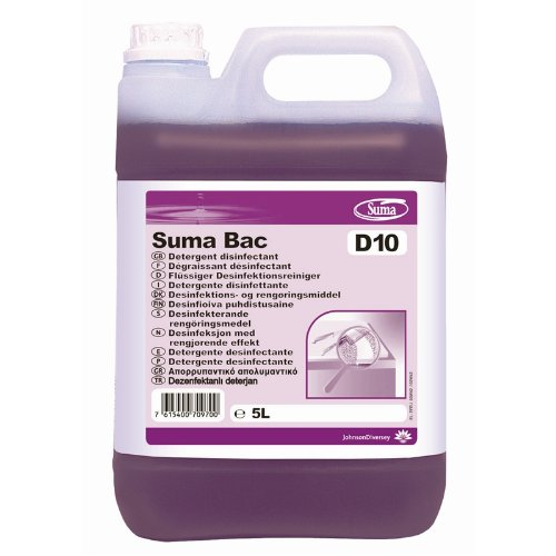 Suma Bac D10 Cleaner & Sanitiser Home