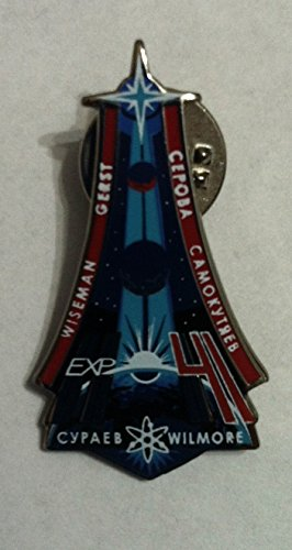 - NASA Expedition 41 ISS International Space Station Mission Lapel Pin