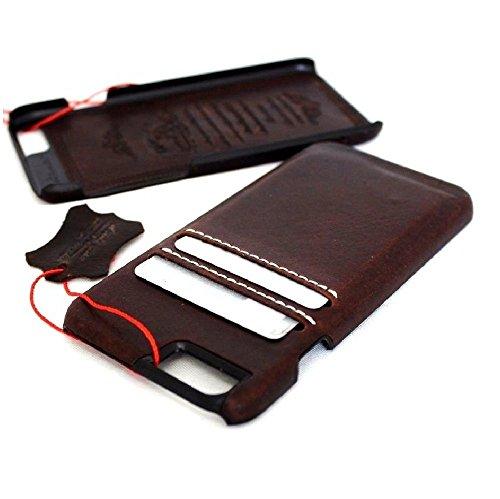 Original Vintage geölt Leder Handmade Schutzhülle für Apple iPhone 6S Slim Wallet 6S dünn Retro AU