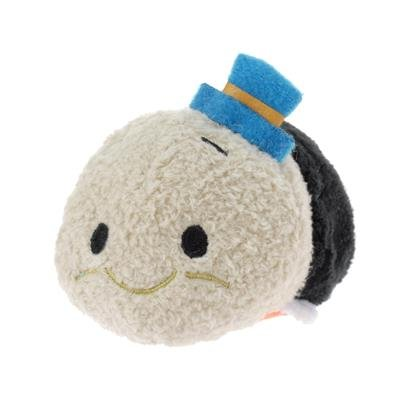 (New Disney Store Mini 3.5 (S) Tsum Tsum Jiminy Cricket Plush Doll (Pinocchio) by Disney)