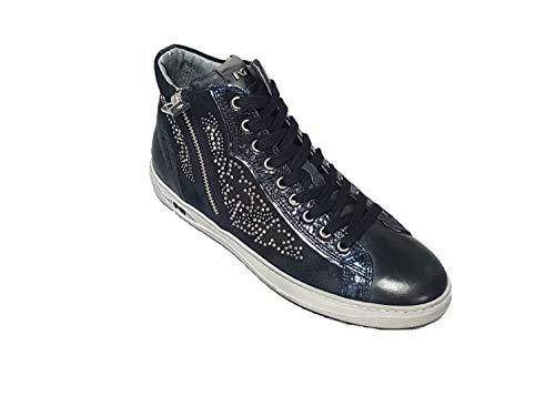 Blu di Sneakers Giardini 806471 Nero Donna wqxRSXqZz