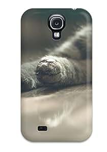New Cat Tpu Case Cover, Anti-scratch GQhknWj591GWiDy Phone Case For Galaxy S4