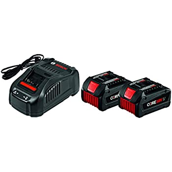 Bosch GXS18V-02N24 18V Starter Kit with CORE18V Batteries and Charger