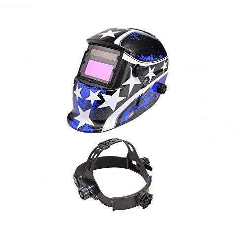 Welding Helmet Mask (Blue) - 8