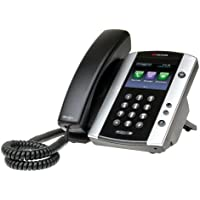 Polycom VVX 501 Corded Business Media Phone System - 12 Line PoE - 2200-48500-001 - AC Adapter Included - Replaces VVX 500