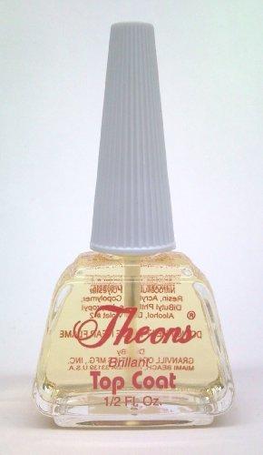 Theons Nail Top Coat, nail art, vibrant colors, consistency, long ...