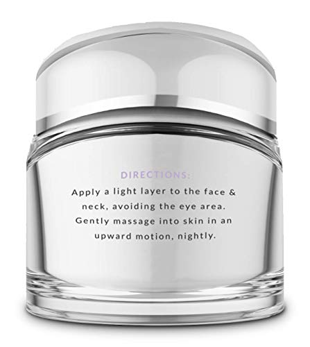 Pure Biology Premium Night Cream Face Moisturizer with Clinically Studied Syn-Coll, Retinol, Collagen & Hyaluronic Acid, Anti Aging Face Cream for Wrinkles, Eyes & Neck for Women & Men