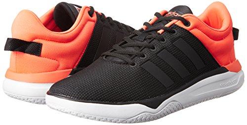 adidas CLOUDFOAM SWISH - Zapatillas deportivas para Hombre, Negro - (NEGBAS/NEGBAS/ROJSOL) 41 1/3