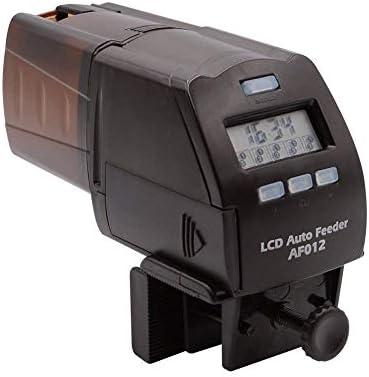 NICREW Acuario Alimentador Automatico de Peces, Pantalla LCD Dispensador de Alimentos de Peces para Deposito