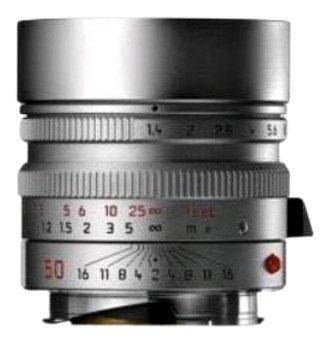 Leica 50mm f/1.4 Summilux-M Aspherical Manual Focus Lens (11892)