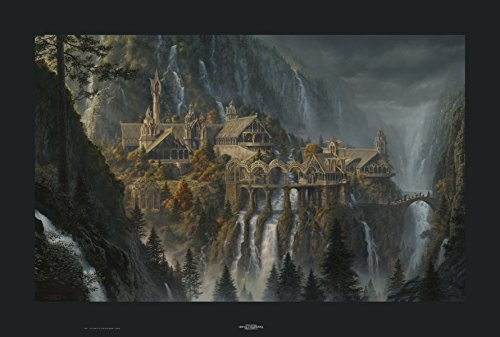Rivendell CANVAS Giclee Limited Edition