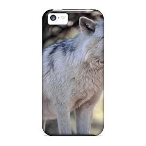 High-quality Durability Cases For Iphone 5c(snow Wolf Hd1080p Supersharp)