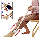 Sock Aide Tool, for Putting On and Removing Socks, for Elderly, Senior, Pregnant, Pull Up Assistance Help