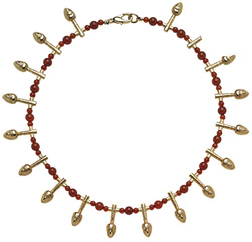 Carnelian Museum - Mother's Day Special - Egyptian Nefer Necklace with Carnelian, from Our Museum Collection
