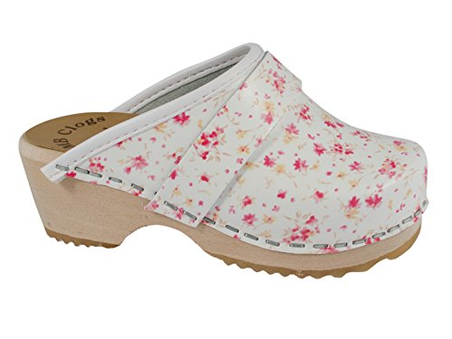 Original Schwedenclogs Kinderclogs Mini Summer Flower MB Clogs