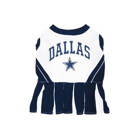 Amazon.com   Pets First Dallas Cowboys Pet Cheerleader Uniform Extra Small    Pet Dresses   Pet Supplies e4d700e1f