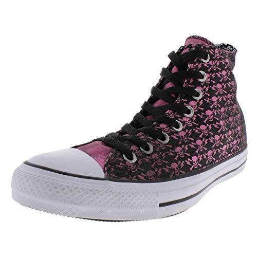 Converse Mens Skull Print High Top High Top Sneakers Black 9.5 Medium (D)