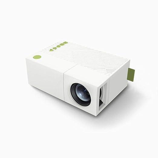 WWLLSPP Proyector YG310 Mini Proyector LCD Portátil Proyector De ...