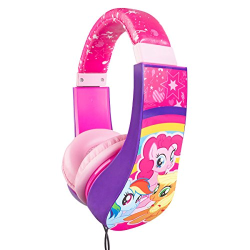 My Little Pony HP2-04057 Kid Safe Over-The-Ear Headphone with Volume Limiter by Sakar