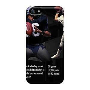Best Cell-phone Hard Cover For Iphone 5/5s (yzk10888xDdB) Support Personal Customs Colorful Oakland Raiders Image