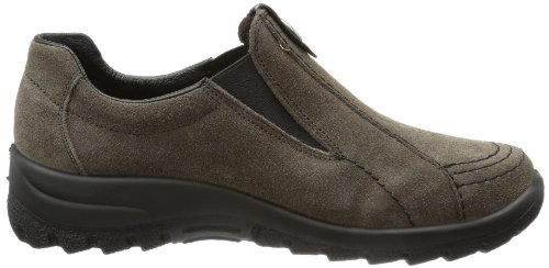 Rieker Mujeres L.slipper Nubia / Negro Gris Oscuro