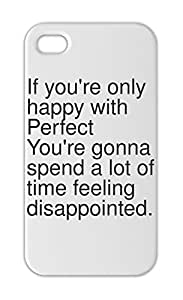 If you're only happy with Perfect You're gonna spend a lot Iphone 5-5s plastic case