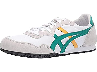 free shipping 9e651 c4923 Amazon.com | Onitsuka Tiger Unisex Serrano¿ White/Jelly Bean ...