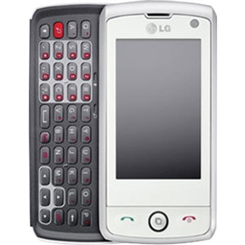 LG Unlocked GW525 Calisto Quad-band Cell Phone - White/Silver - International Version No Warranty by LG