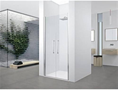 Puerta con 2 paneles battants Young 2.0 2B 100 cm transparente ...