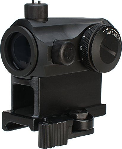 - Evike - Avengers T1 Micro Reflex Red & Green Dot Sight with QD Riser (Color: Black)