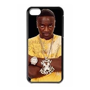 iPhone 5c Cell Phone Case Black Akon