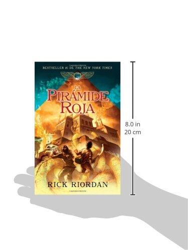 Amazon.com: La pirámide roja: Las crónicas de Kane, libro 1 (Spanish Edition) (9780307745224): Rick Riordan: Books