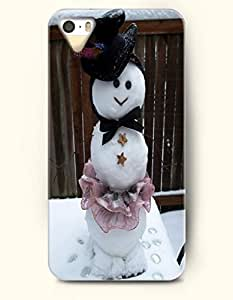 OOFIT iPhone 4 4s Case - A Snow Lady With Elegant Dress