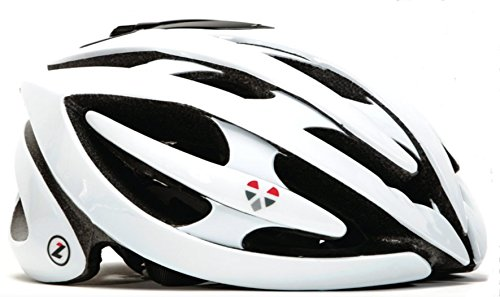 LifeBEAM Smart Helmet with Integrated Heart Rate Monitor - Dual Connectivity White
