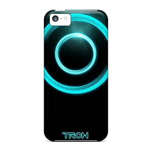 Premium [OXNcCnV2400IFUlx]tron Legacy Logo Case For Iphone 5c- Eco-friendly Packaging
