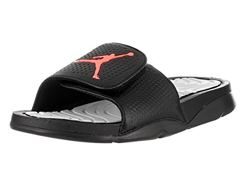 2cddd5dccb36d Jordan Nike Mens Hydro 5 Black Synthetic Sandals 9 US - Import It All